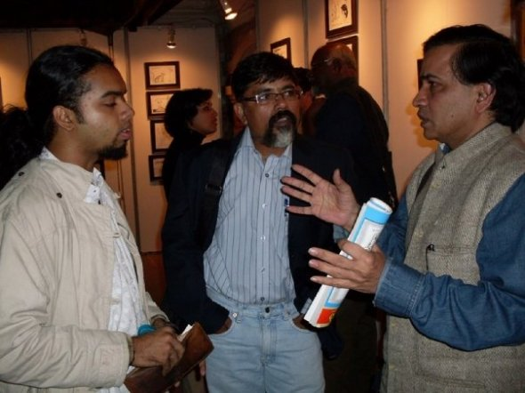 Cartoonist Abisheak And Other